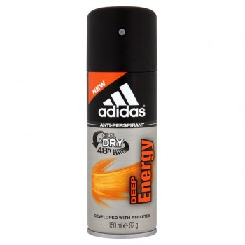 Adidas Deep Energy Antiperspirant Deodorant 150Ml