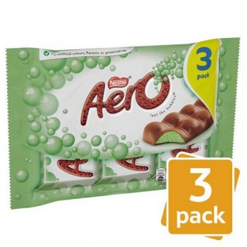 Aero Mint Chocolate 3 Pack 120G