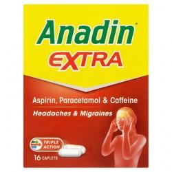 Anadin Extra Caplets 16S
