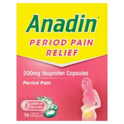 Anadin Period Pain Caps 16'S