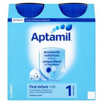 Aptamil First Milk 4 X 200Ml