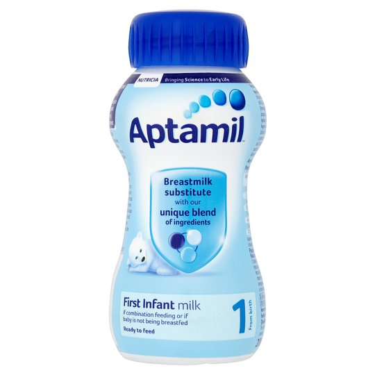 Aptamil 1 First Milk Multipack 4X200ml Ready To Feed ...