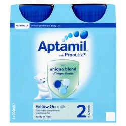 Aptamil Follow On Milk 4 X 200Ml