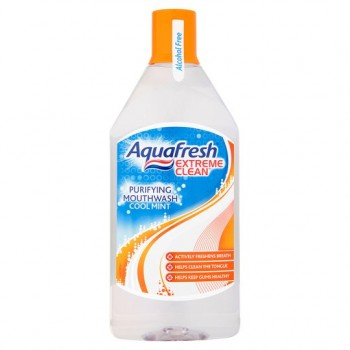 Aquafresh Extreme Clean Mouthwash 500Ml