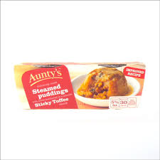 Auntys Sticky Toffee Puddings 200G