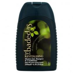 Badedas Rev Shower Gel, Shampoo And Conditioner 200Ml