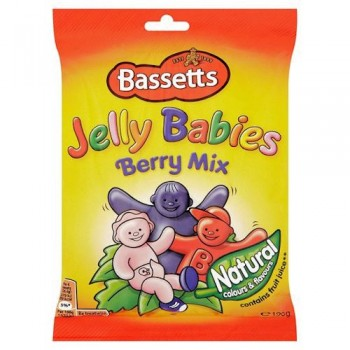 Bassetts Jelly Babies Berry Mix 190G