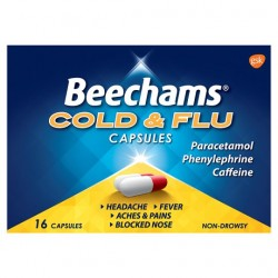 Beechams Powder Capsules 16'S