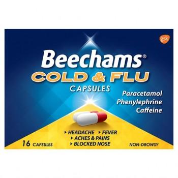 Beechams Powder Capsules 16'S