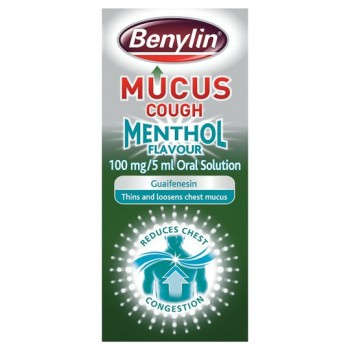 Benylin Mucus Menthol Cough 150Ml