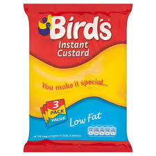 Birds Instant Custard Low Fat Triple Pack 225G