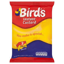 Birds Instant Custard Original Triple Pack 225G