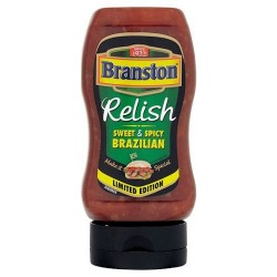 Branston Sweet And Spicy Brazilian Relish 345G