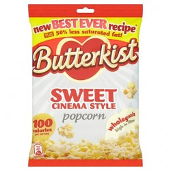 Butterkist Cinema Sweet Popcorn 120G