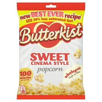 Butterkist Cinema Sweet Popcorn 120G