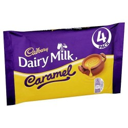 Cadbury Dairy Milk Caramel 4 Pack 148G
