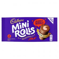 Cadbury Fizzy Cola Mini Roll 5 Pack