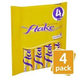 Cadbury Flake 4 Pack 102G