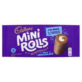 Cadburys Chocolate Mini Rolls 5 Pack