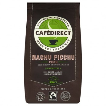 Cafedirect Machu Picchu Fair Trade Ground Coffee 227G