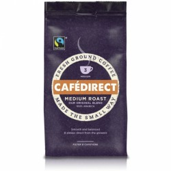 Cafedirect Medium Roast Fair Trade Ground Coffee 227G
