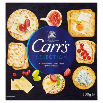 Carrs Christmas Selection Box 500G