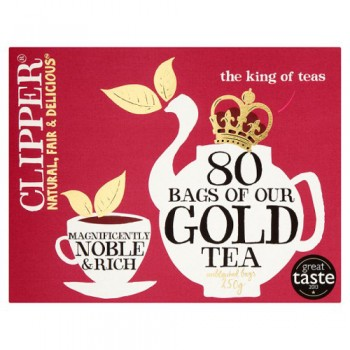 Clipper Tea Gold 80'S 250G