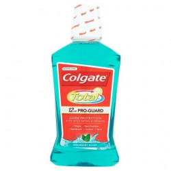 Colgate Total Advanced Mouthrinse Green 500Ml