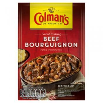 Colman's Beef Bourguignon Recipe Mix 39G