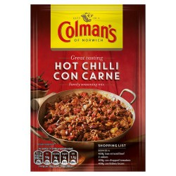 Colman's Hot Con Carne Recipe Mix 37G