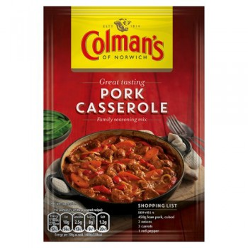 Colman's Pork Casserole Recipe Mix 38G