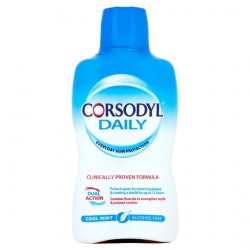 Corsodyl Defence Alcohol Free Cool Mint 500Ml