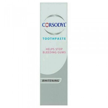 Corsodyl Paste Whitening 75Ml