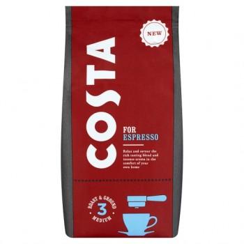 Costa Espresso Ground Coffee 200G