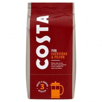 Costa Roast And Ground Coffee 200G