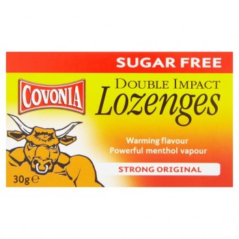 Covonia Lozenges Strong Original Sugar Free 30G