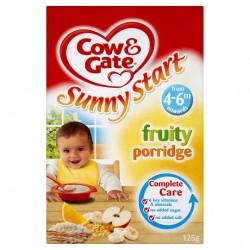 Cow And Gate 4Mths+ Fruity Porridge 125G