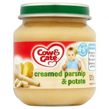 Cow And Gate Baby Balance Creamy Parsnip And Potato 125G