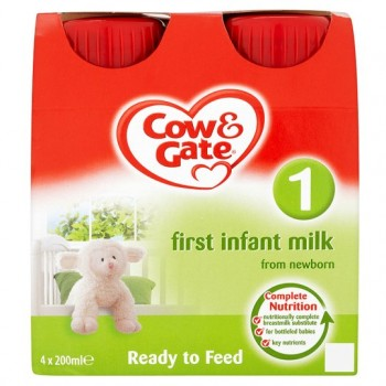 Cow And Gate First Milk 4 X 200Ml