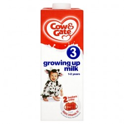 Cow And Gate Growing Up Milk 1+ Years 1 Litre