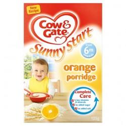 Cow And Gate Orange Porridge 125G