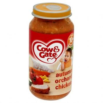 Cow & Gate 10 Mths+ Autumn Orchard Chicken 250G