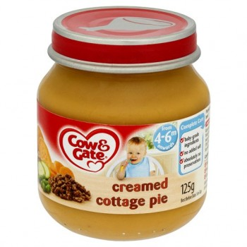 Cow & Gate 4 Mth+ Creamed Cottage Pie 125G