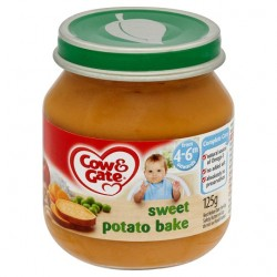 Cow & Gate 4 Mth+ Sweet Potato Bake 125G