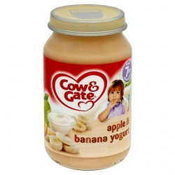 Cow & Gate 7 Mth+ Apple And Banana Yoghurt 200G