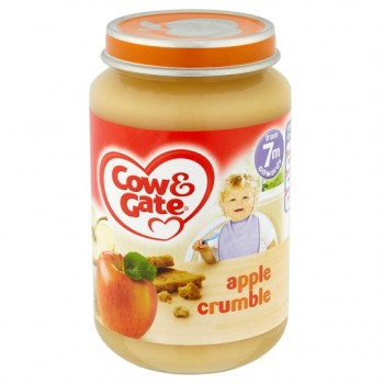 Cow & Gate 7 Mth+ Apple Crumble 200G