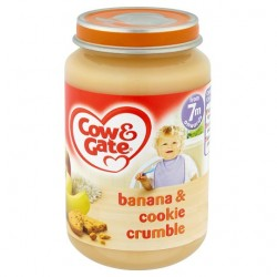 Cow & Gate 7 Mth+ Banana And Cookie Crumble 200G