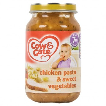 Cow & Gate 7 Mth+ Chicken Pasta And Sweet Vegetable 200G
