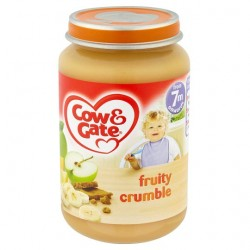 Cow & Gate 7 Mth+ Fruity Crumble 200G