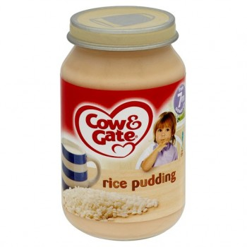 Cow & Gate 7 Mth+ Rice Pudding 200G